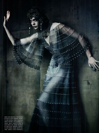 20's silver screen cleopatra : vogue italia