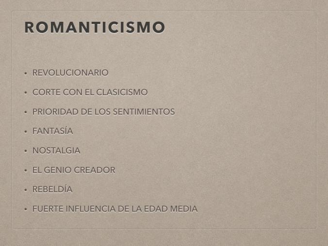 CLASE ROMANTICISMO 2017.001